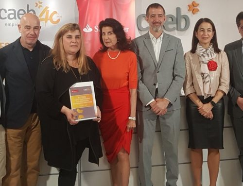 Humana Brain, a project by Clínica Humana and C2C, awarded the II Edition of CAEB – Santander Awards for business innovation